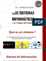 Unidad 1 Los Sistemas Informaticos y El Auditor