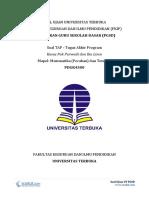 4 - Soal TAP UT PGSD - Tugas Akhir Program - Pak Purwadi Dan Ibu Lince – Matematika Dan Tematik - Pecahan