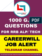 1000 GK Que for RRB ALP Technician 2018 in English ( For More Book - www.gktrickhindi.com ).pdf