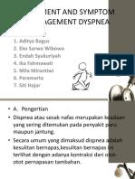 Assesment and Symptom Management Dyspnea