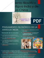 Pensamiento Filosófico de La Antigua India y de La Antigua China