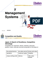 Total Quality Management (TQM) System