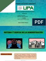 Sistemas y Ciencia de La Administracion