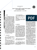 T 211-90 (1996) Cement Content of Cement Treated Aggregate