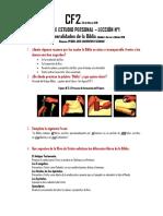 ESTUDIO PERSONAL GUIA 1- Lección N°1