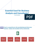 Essential Excel