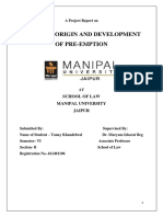 Family Law-II Project