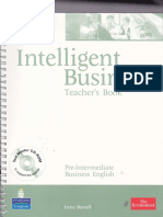 Intelligent Business - Teacher Book