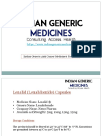 AntiCancer Medicines