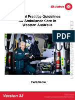 Clinical Practice Guidelines Paramedic V33 - March 2019