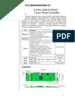 Usb Touch Screen Controller ETP-MB-MER4050