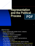 Representation and Political Process