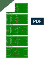 Sistemas de Juego en El Futbol
