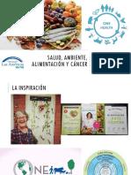 Salud, Ambiente, Alimentación y Cáncer