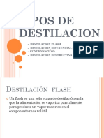 Tipos de Destilacion