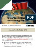 türkiye biosidal mevzuatı