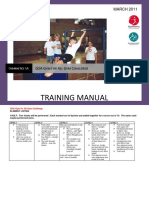 gym training manual