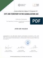 17 | City and territory in the Globalization Age .Universitat Politecnica de Valencia. J.L.Vallejo | Spain