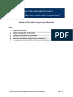 Guía Problemas Estructurados y No Estructurados.