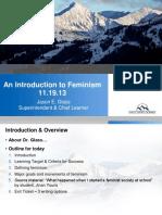 Feminism Powerpoint