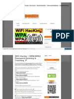 WiFi Hacker WPAWPA2 Password Hacking & Cracking