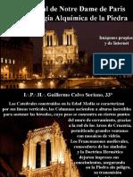 La Catedral de Notre Dame de Paris, la Simbología Alquímica de la Piedra