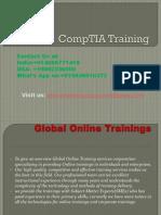 CompTIA Training   CompTIA Online Training - Global Online Training