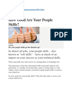 6th How Good Are Your People Skills
