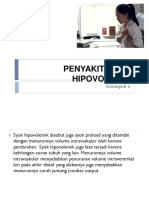 Penyakit Syok Hipovolemik (Gadar)