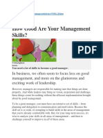 How good are your Management skills.docx