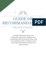 health guide de recommendation