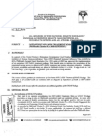 PhilHealth Circular No. 011-2015 OHAT Package
