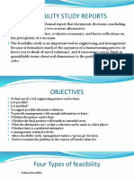 Feasibility Study Reports