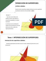 INTERSECCION DE SUPERFICIES