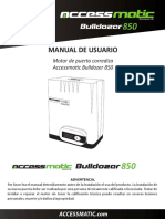 Motor Accessmatic Bulldozer 850 Esp (1)