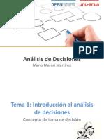 Tema 1_Introduccion Al Analisis de Decisiones