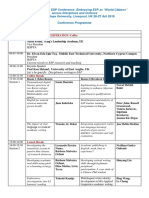 Conference Programme-2019 Updated
