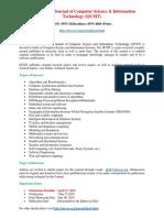 International Journal of Computer Science & Information Technology (IJCSIT)