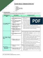 1. Programación anual Comunicación 3ro-2019- - copia - copia.docx