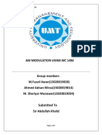 Communication Project Report