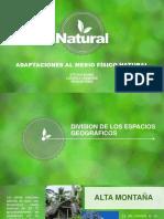 Adaptaciones Al Medio Fisico Natural - Geografia