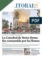 El Litoral Mañana 16-04-2019