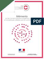 CDG Guide Memento-nomenclature