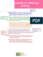 Examples of Reflective Writing (1) (1)