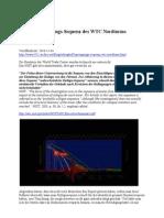 Sprengungs-Sequenz WTC Nordturm