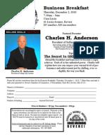 Revere Chamber DEC 2010 Breakfast Flyer