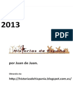 Historia de Espana. 2013 - Juan de Juan