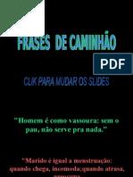 FRASESDECAMINHÃO