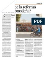 Reforma Laboral Brasileña
