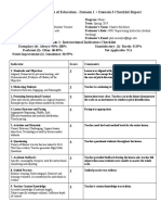 music - blackwood clay -  observation 2 - domain 1   3 checklist report  1